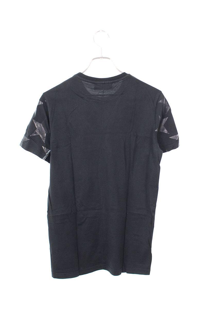 マルチスターパッチ装飾Tシャツ