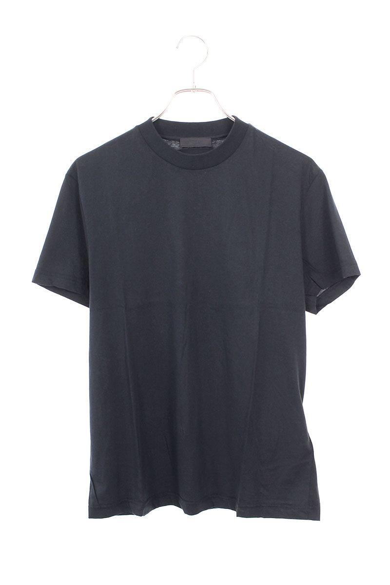 三角ロゴクルーネックTシャツ