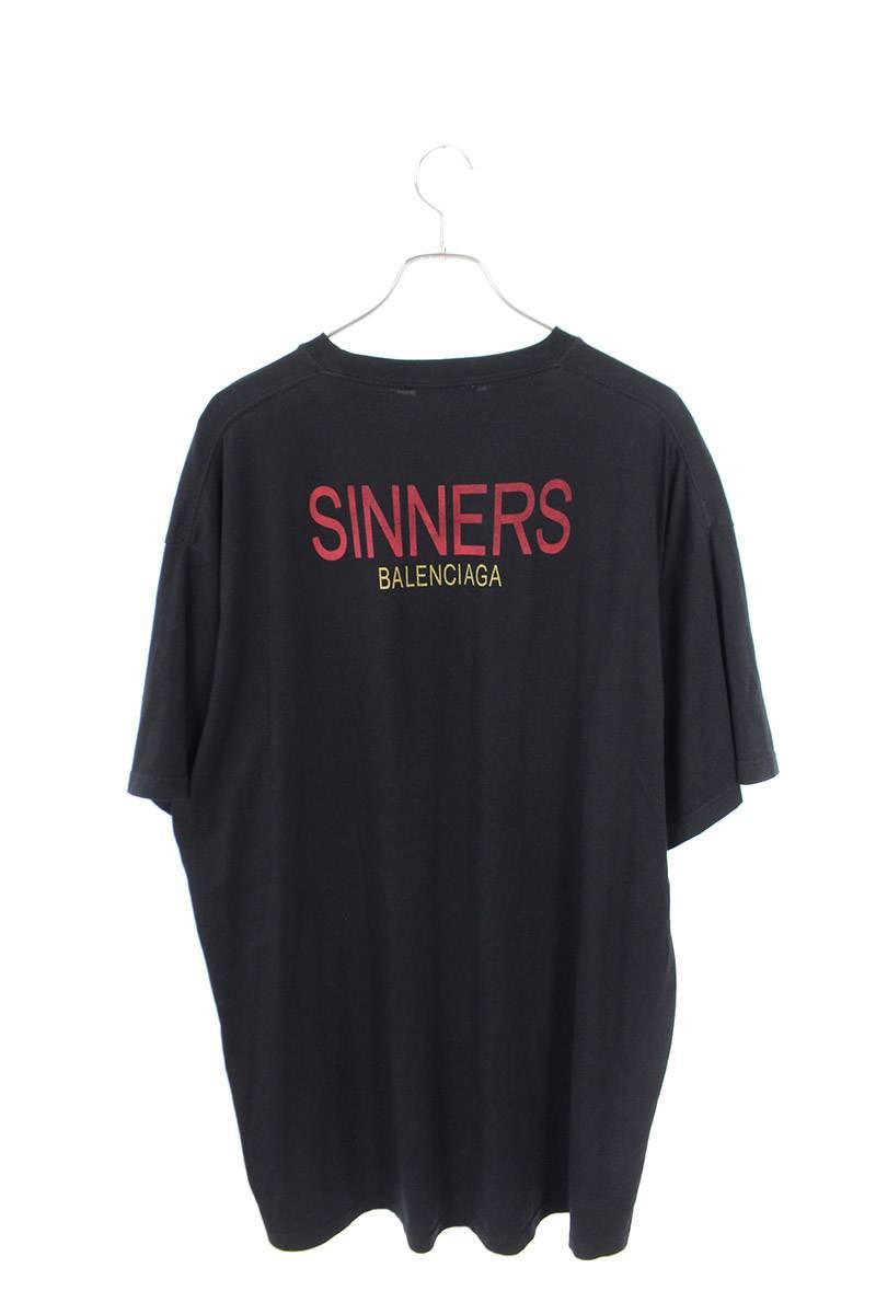 SINNERプリントビックシルエットTシャツ
