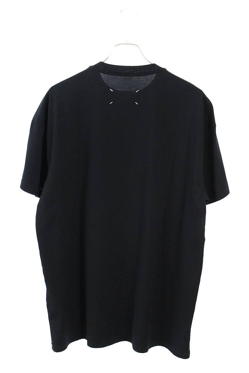 ロゴグラフィックプリントTシャツ