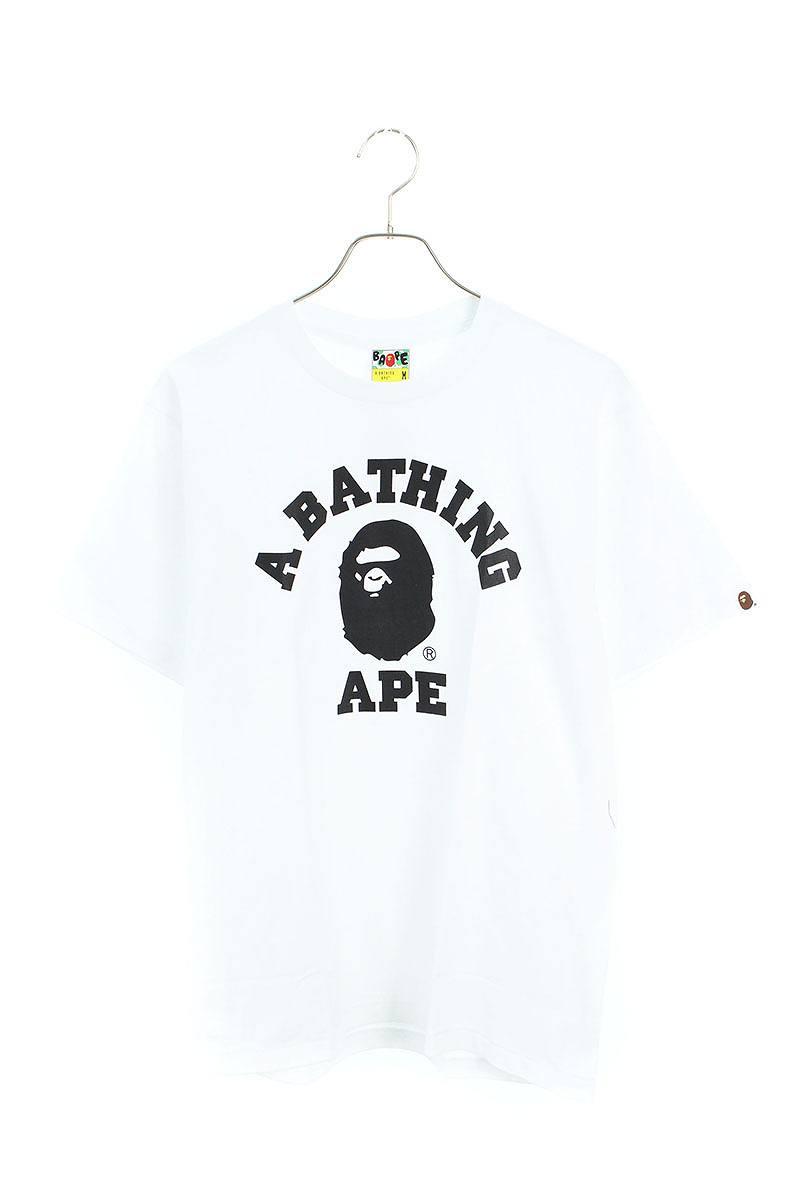 サルプリントTシャツ