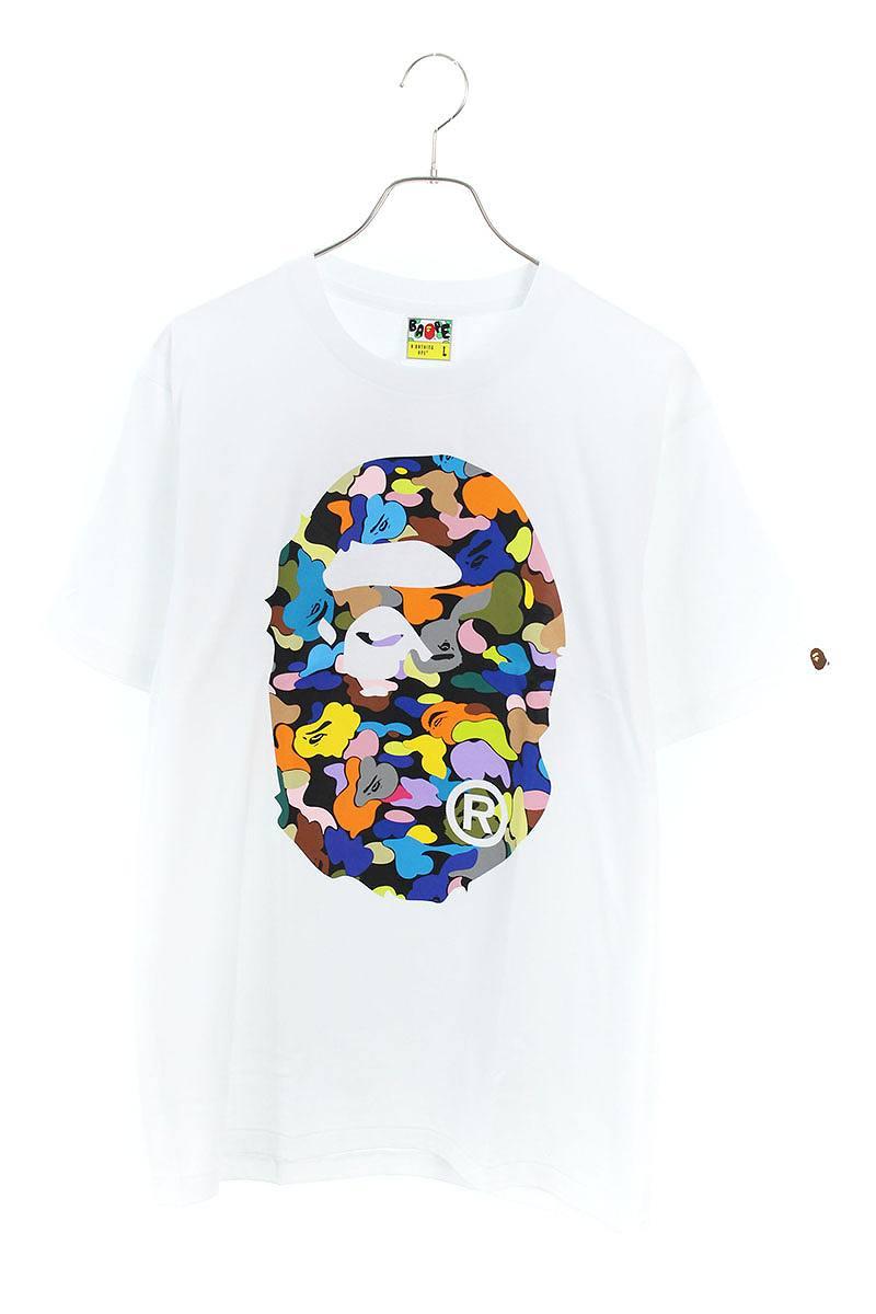 マルチカラーサルプリントTシャツ