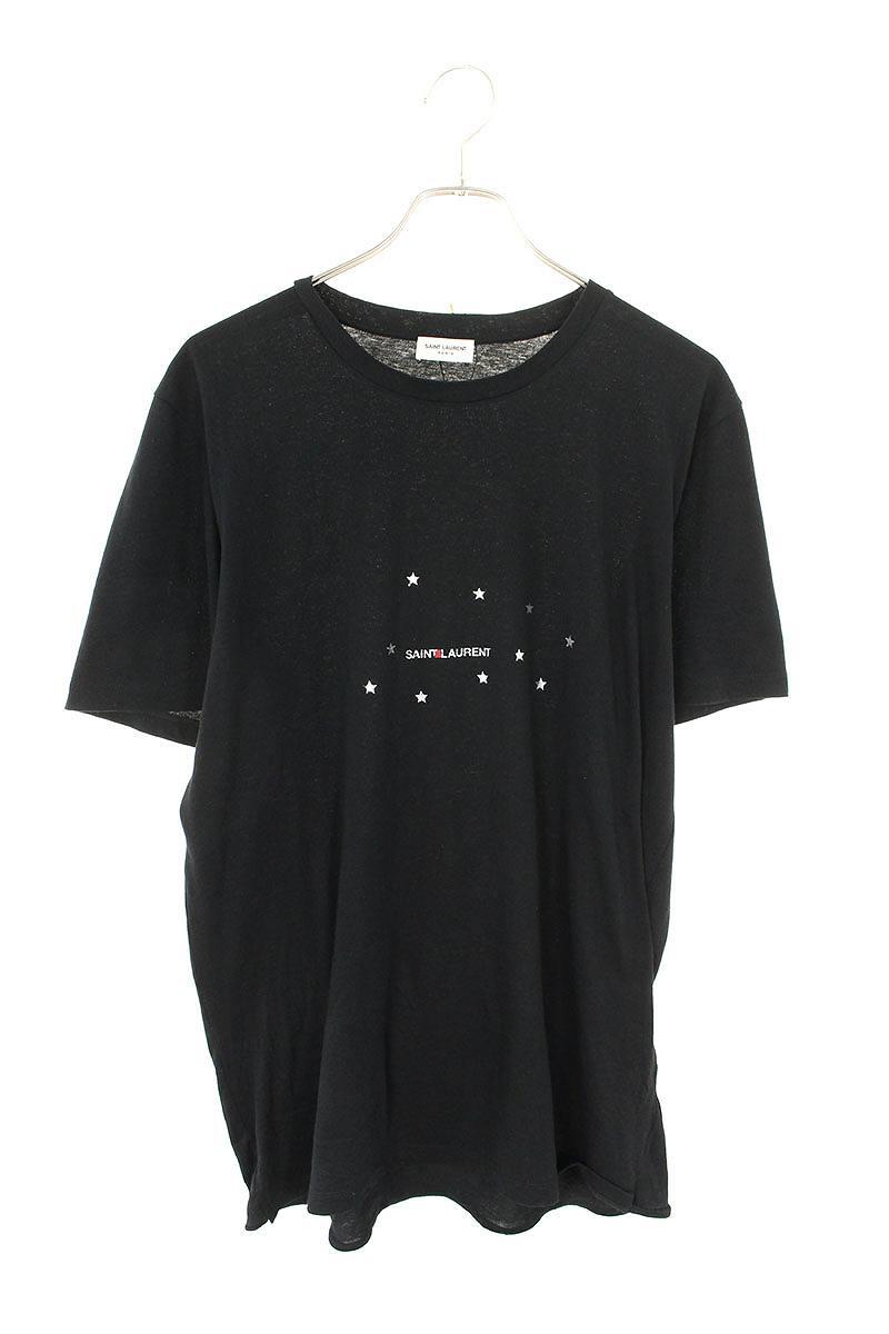 スターロゴプリントTシャツ