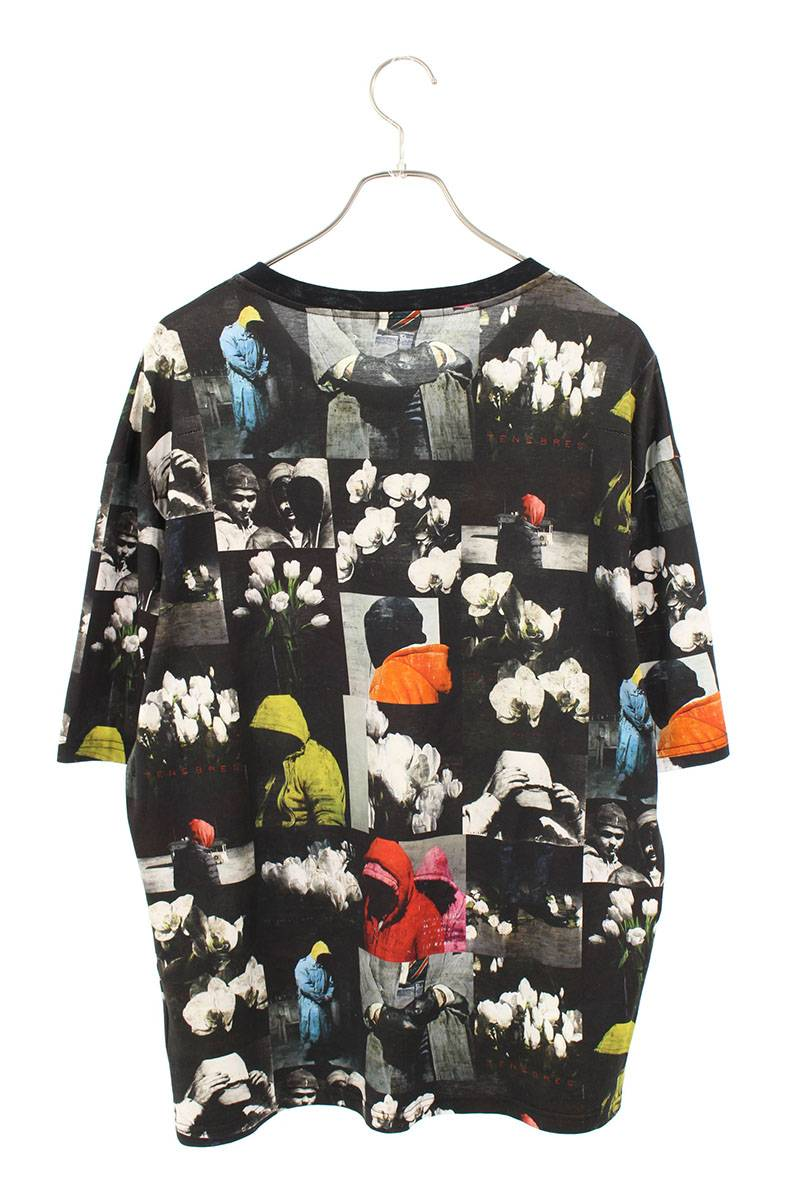 総柄オーバーサイズTシャツ