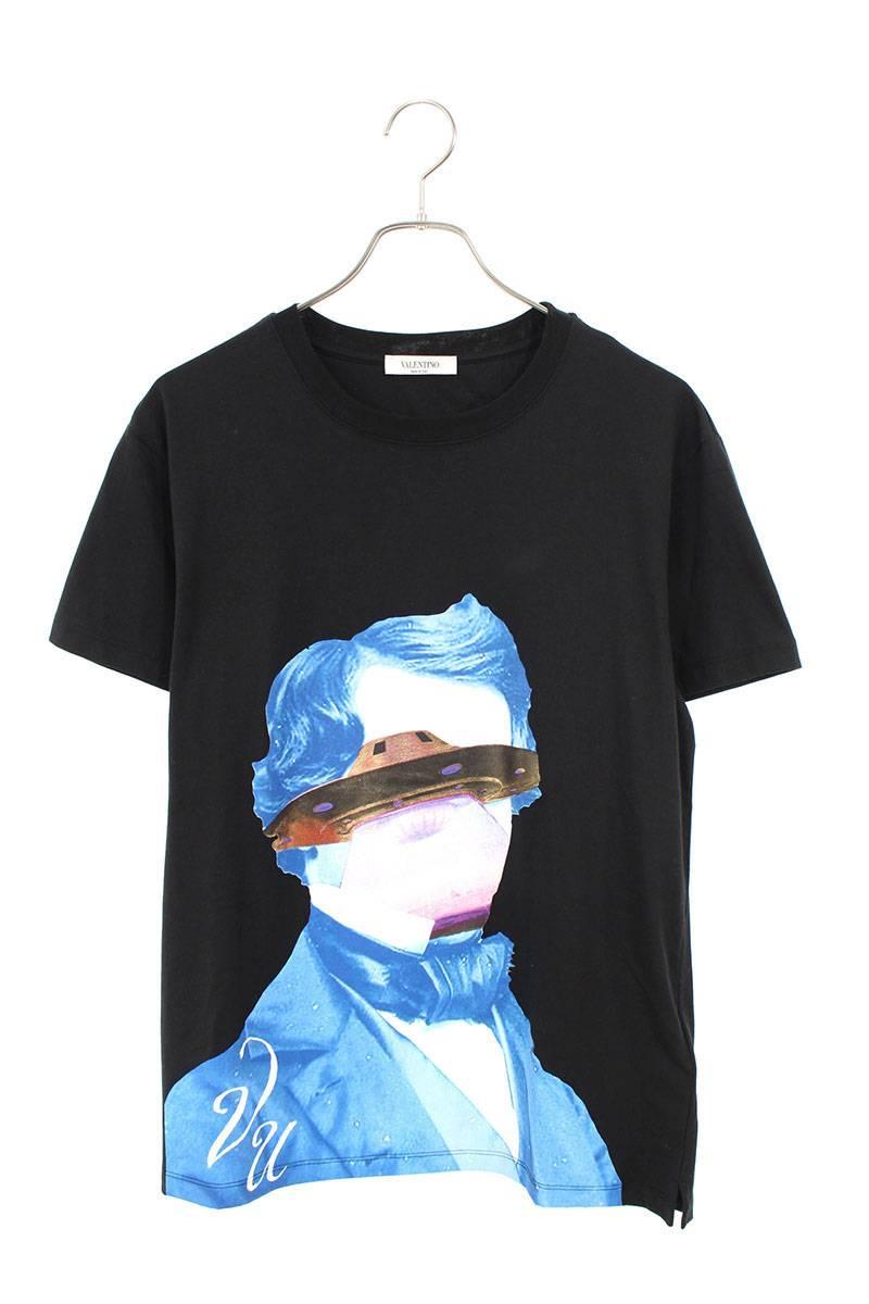 フロントヒューマンプリントTシャツ