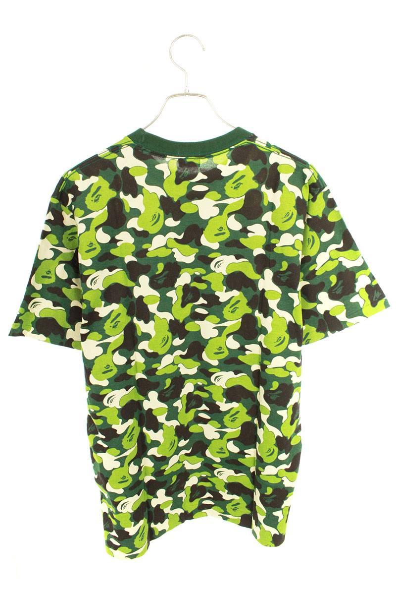 ファーストカモラインストーンロゴTシャツ