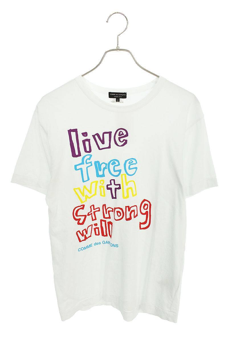 AD2018英字プリントTシャツ