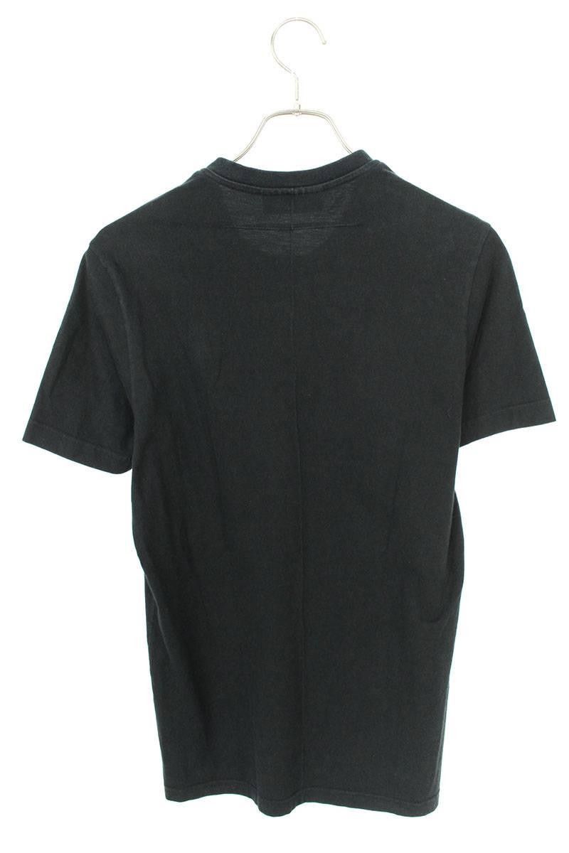 イーグルアメリカンフラッグプリントTシャツ