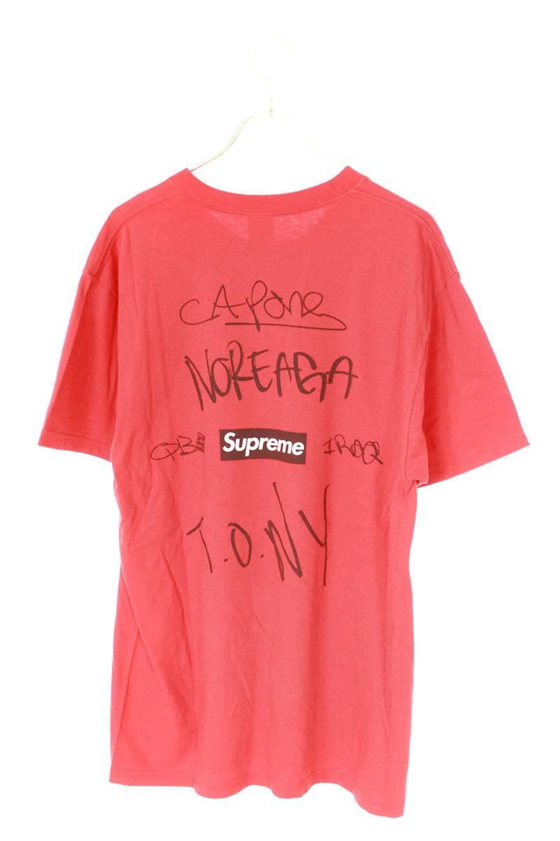 ワーリポートプリントTシャツ