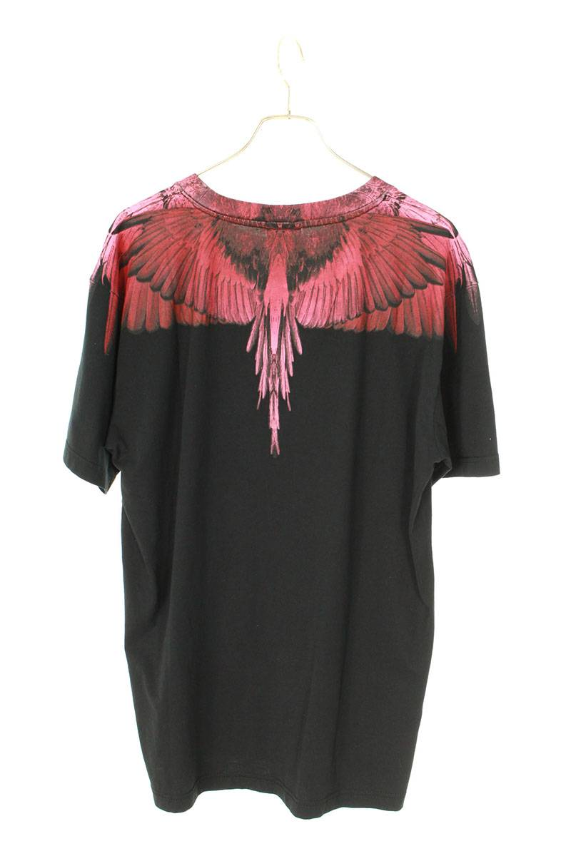 フェザープリントTシャツ
