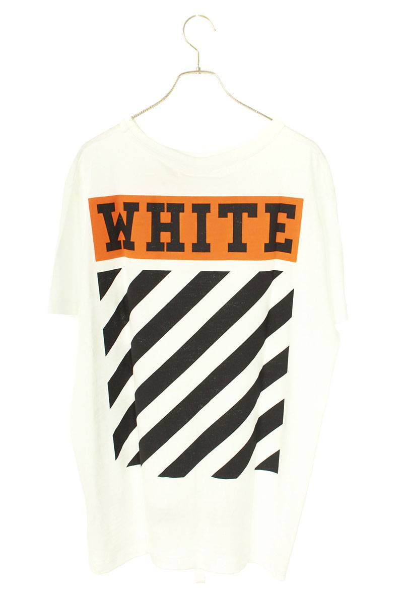 バックバイアスプリントTシャツ