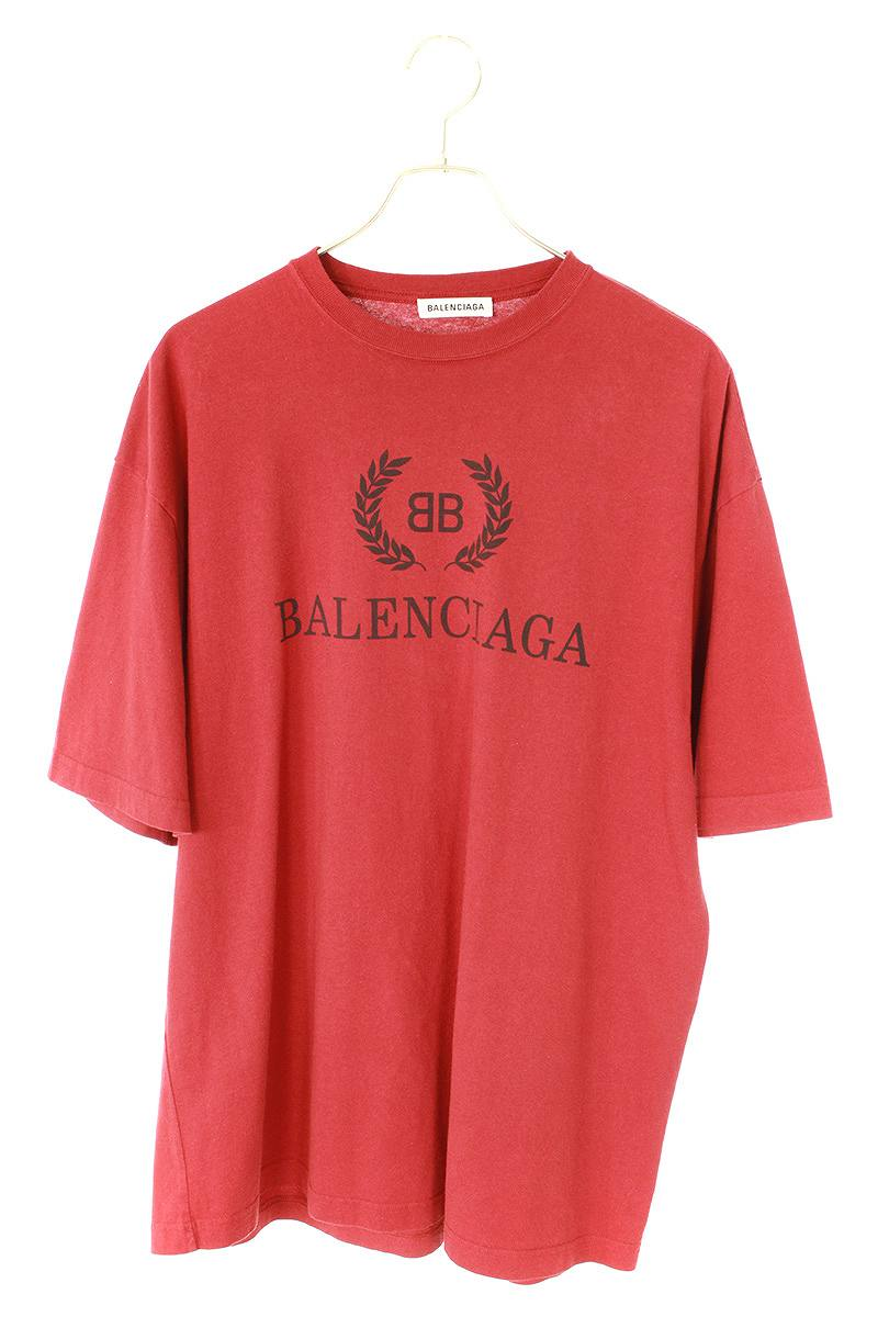 BBロゴプリントオーバーサイズTシャツ