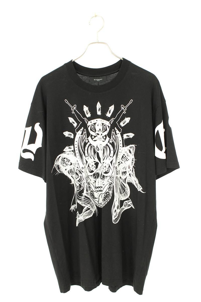エイリアンプリントTシャツ