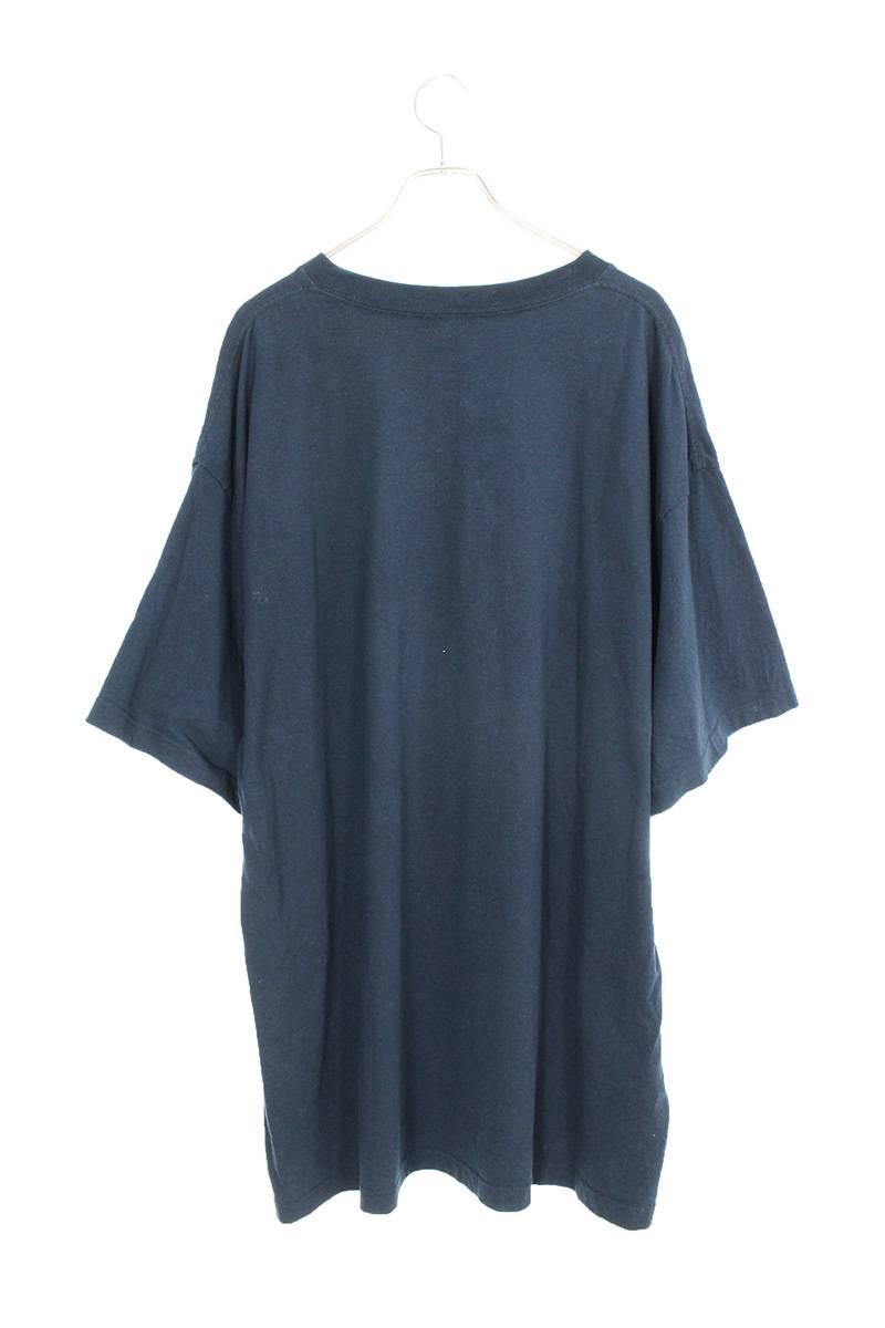 オーバーサイズフロントロゴデザインTシャツ