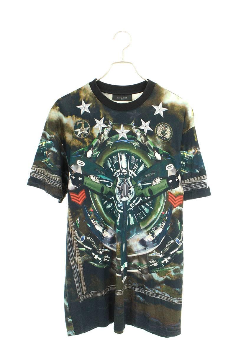 プロペラ総柄オーバーサイズTシャツ