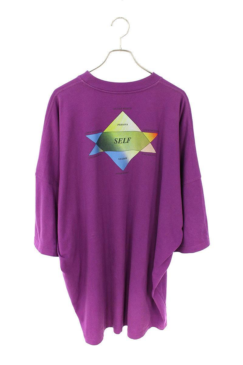胸ロゴ刺繍オーバーサイズTシャツ