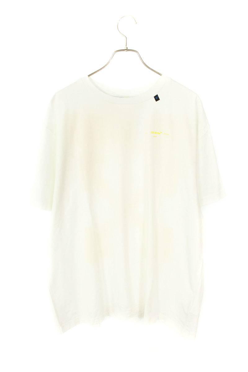 バックアロープリントオーバーサイズTシャツ