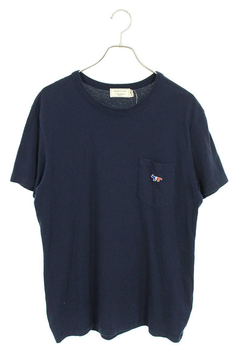 ポケットワッペンデザインTシャツ