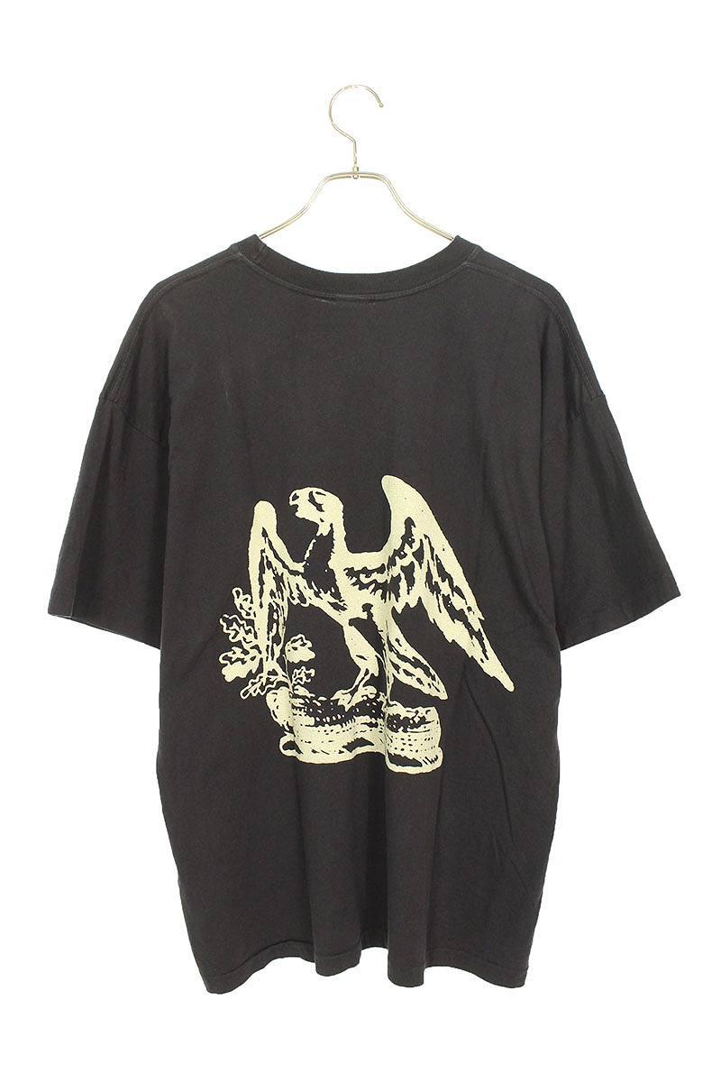 イーグルバックプリントTシャツ