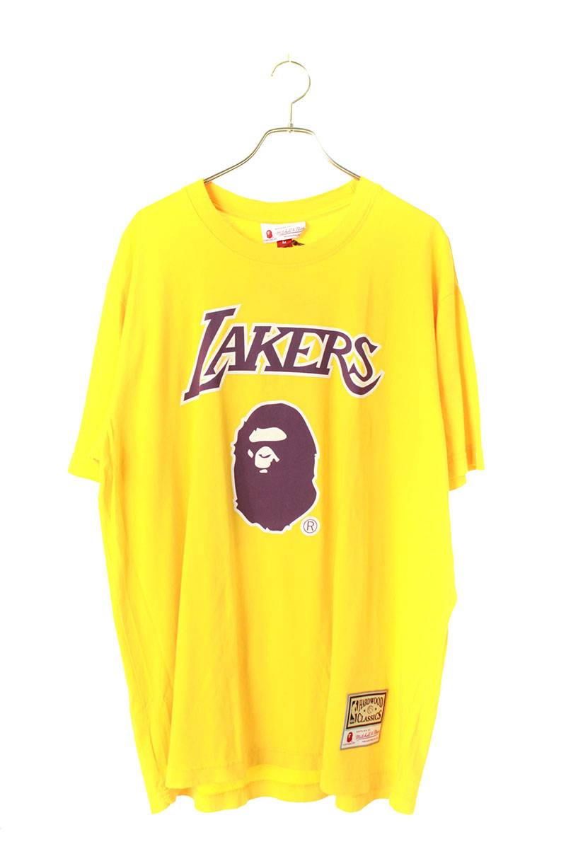 LAKERSプリントTシャツ