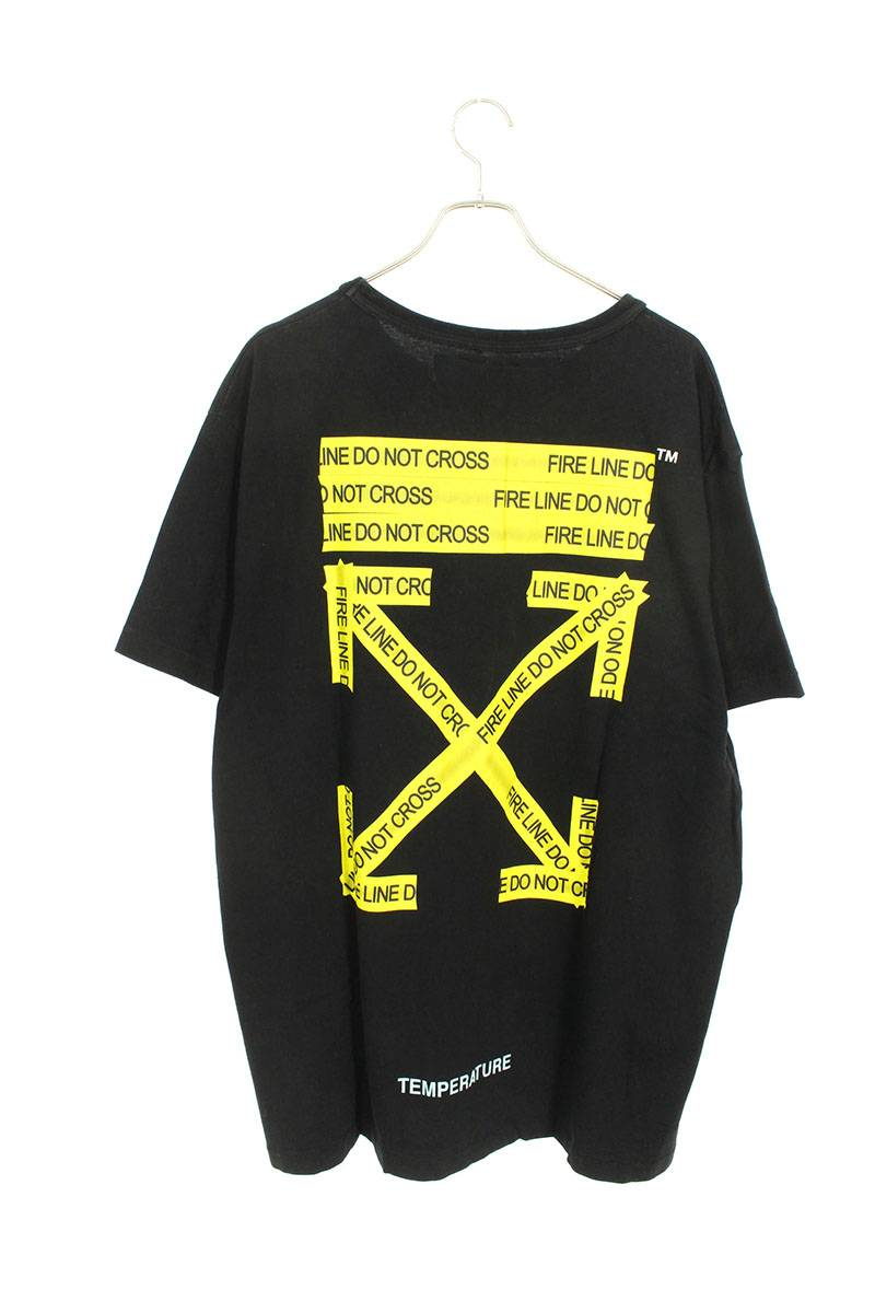 ファイヤーテープオーバサイズTシャツ