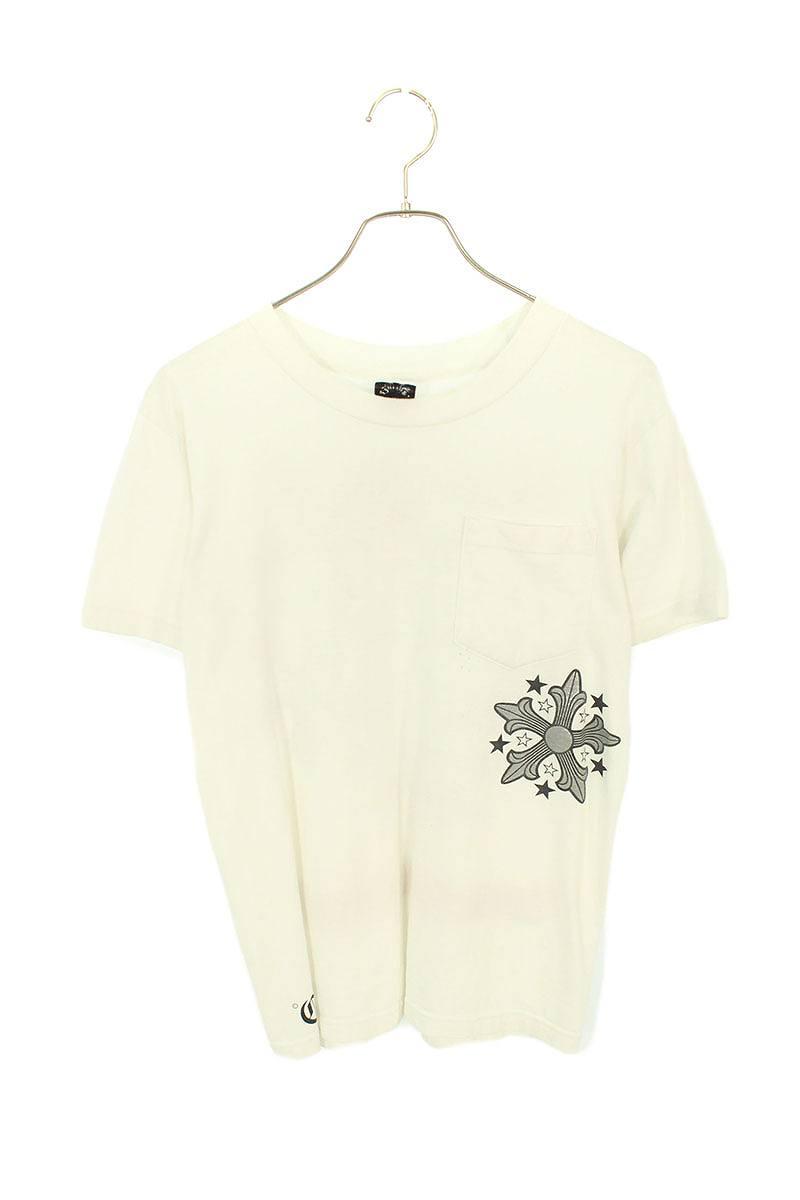クロスバックプリントTシャツ