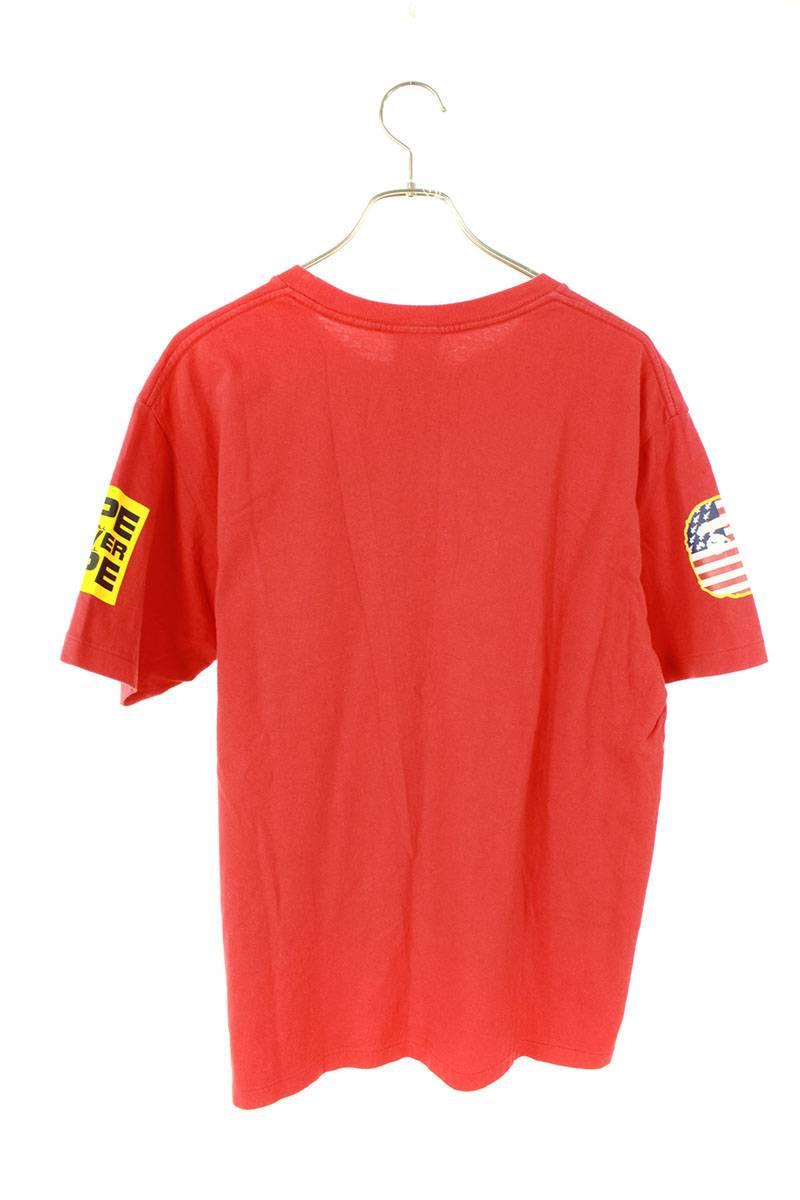 フロントパッチプリントTシャツ