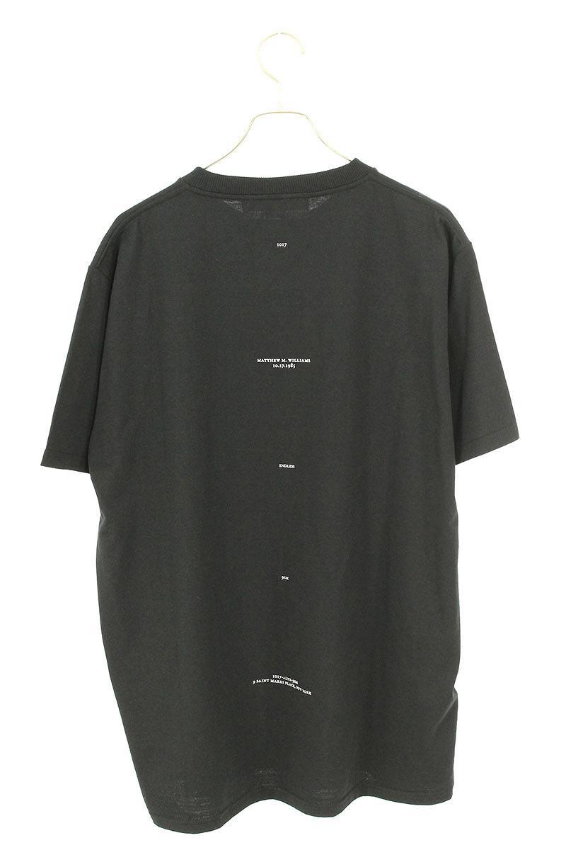 フロントグラフィックプリントTシャツ