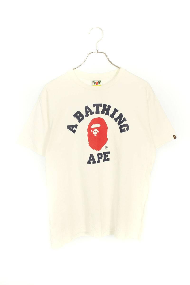 サルロゴプリントTシャツ