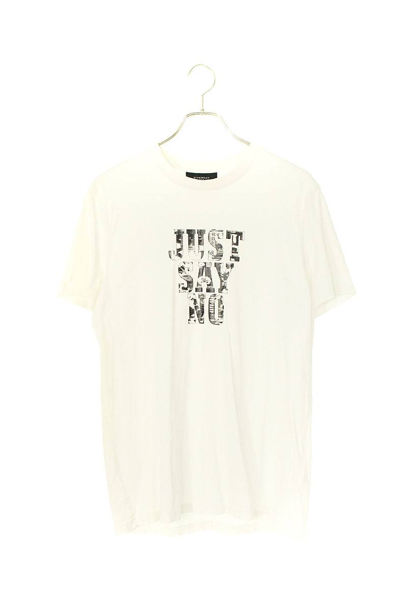 JUST SAY NOプリントTシャツ