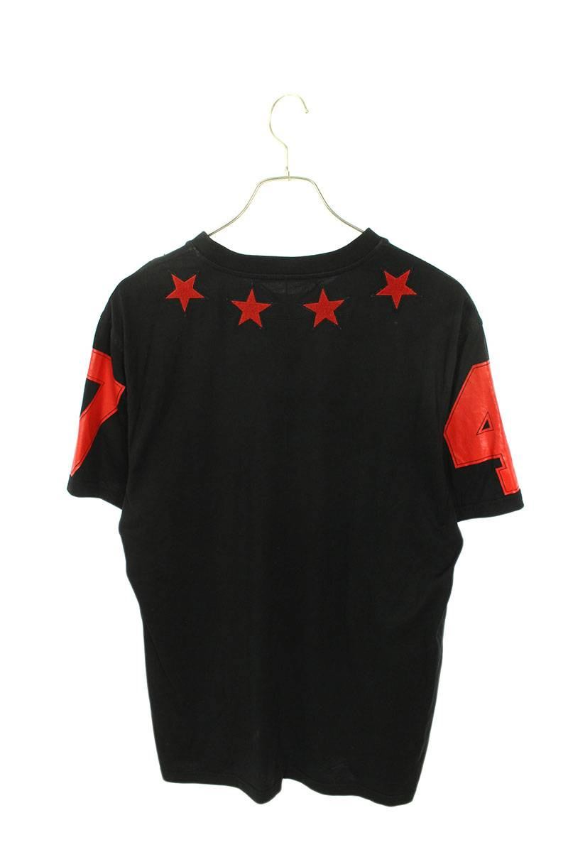スターパッチナンバリングTシャツ