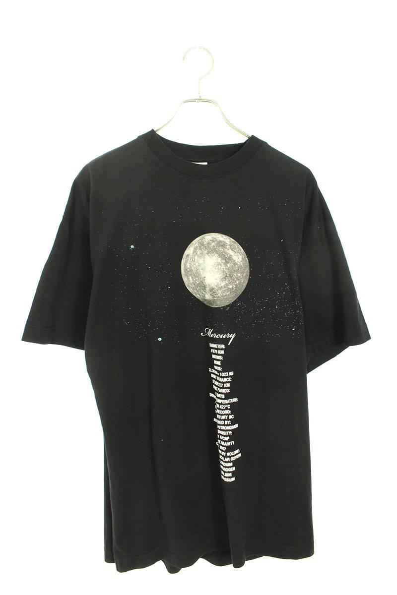 プラネットバックナンバリングオーバーサイズTシャツ