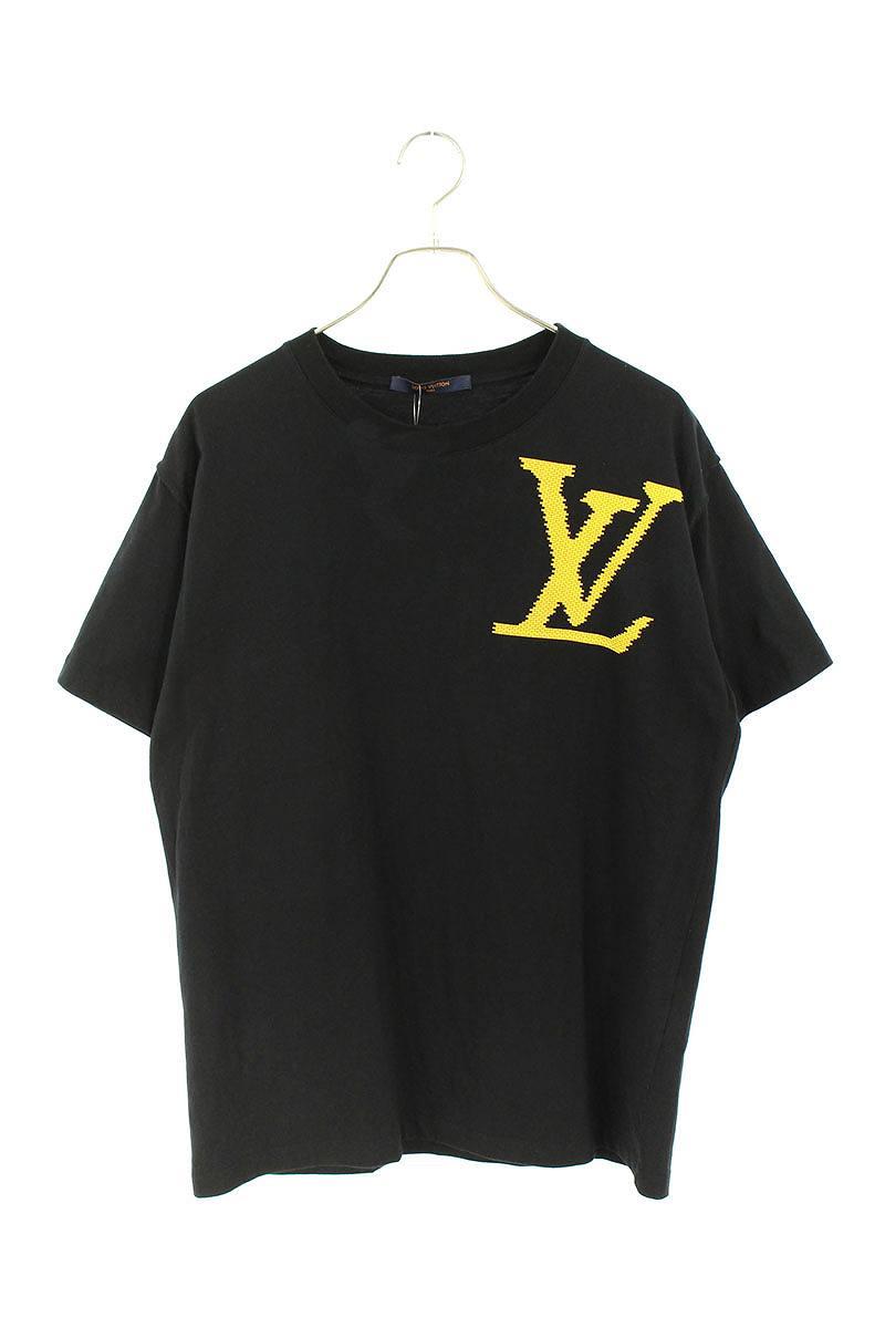 LVロゴブロックプリントTシャツ