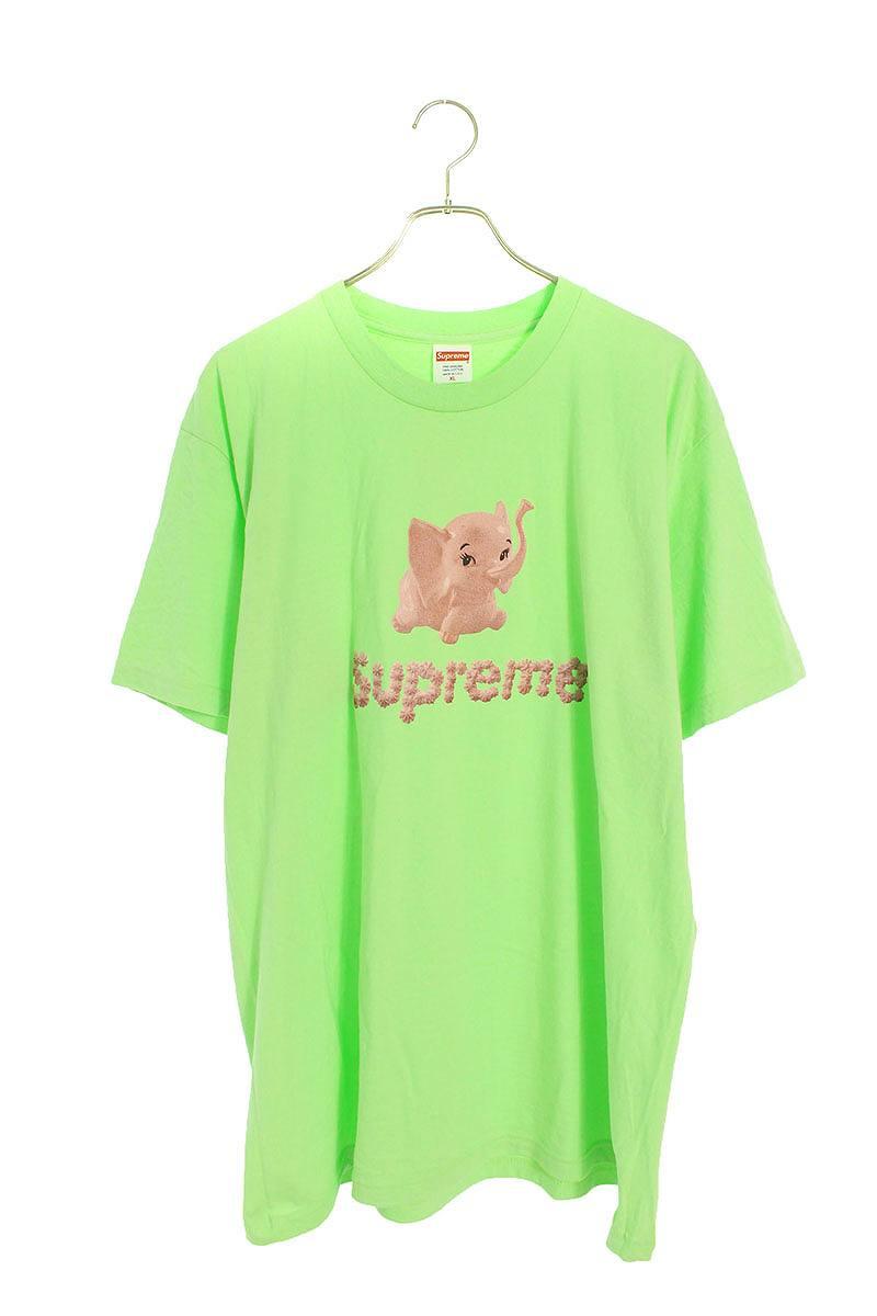エレファントプリントTシャツ