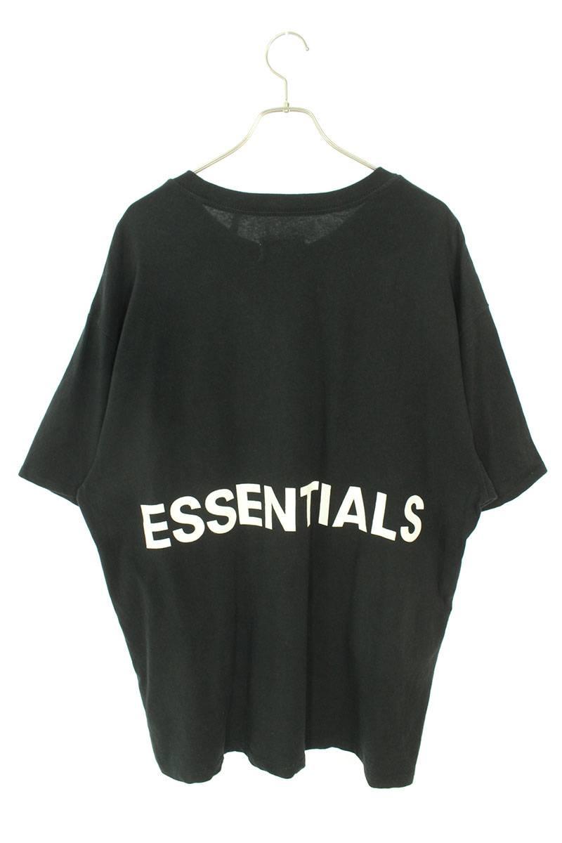 バックロゴボクシーTシャツ