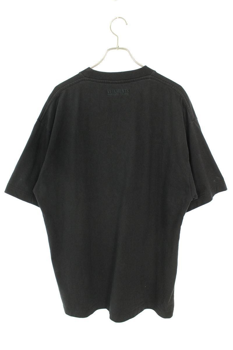ロゴ刺繍オーバーサイズTシャツ
