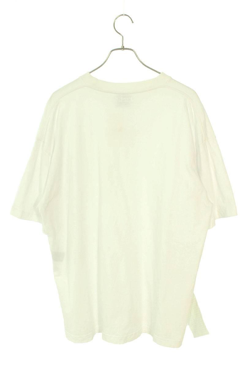フロントロゴオーバーサイズTシャツ
