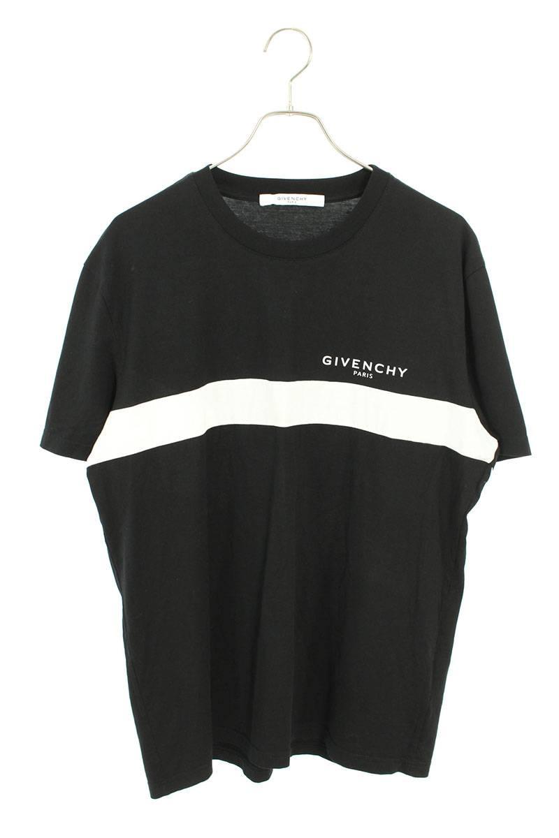 バックロゴカットアウトTシャツ