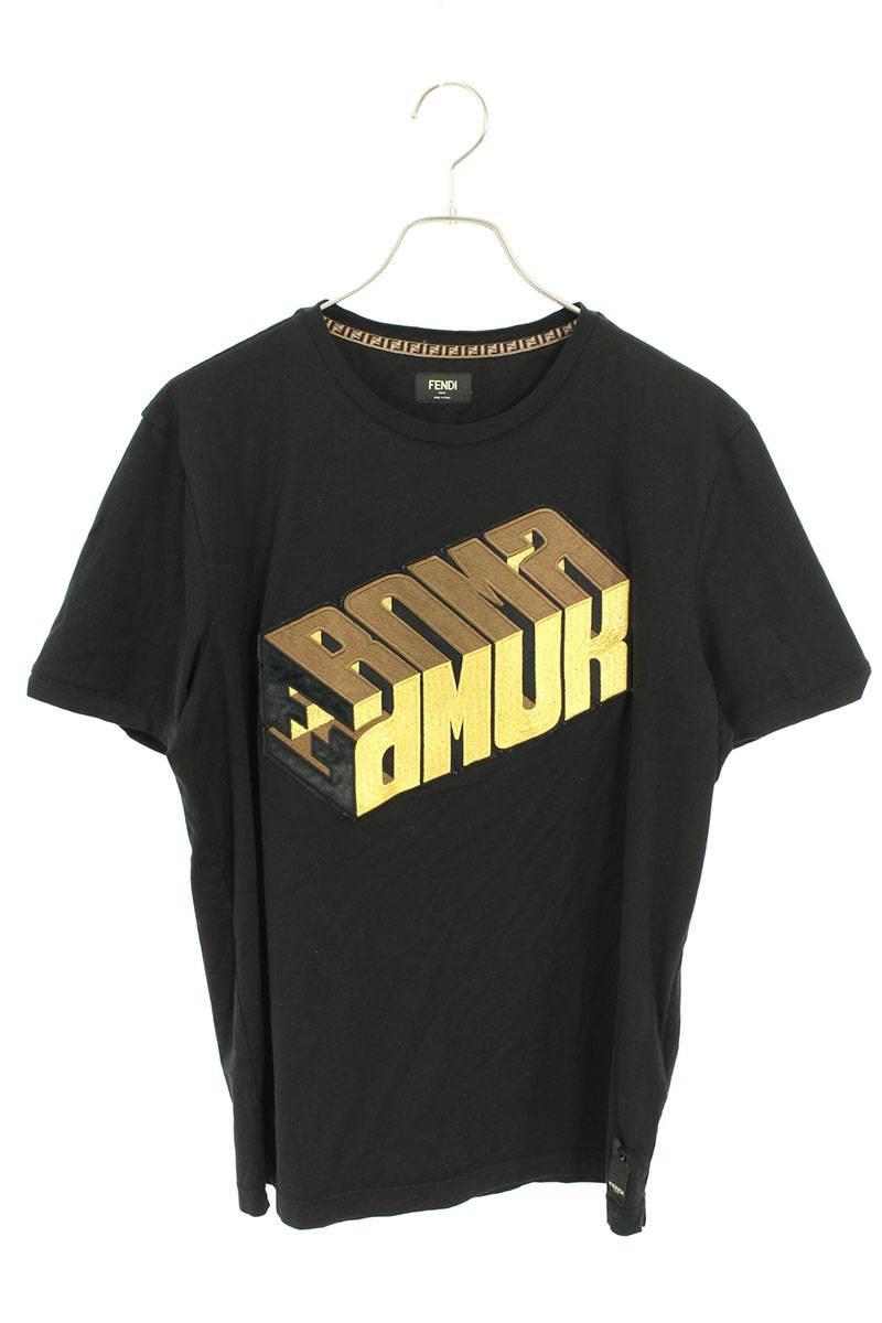 フロントロゴ刺繍Tシャツ