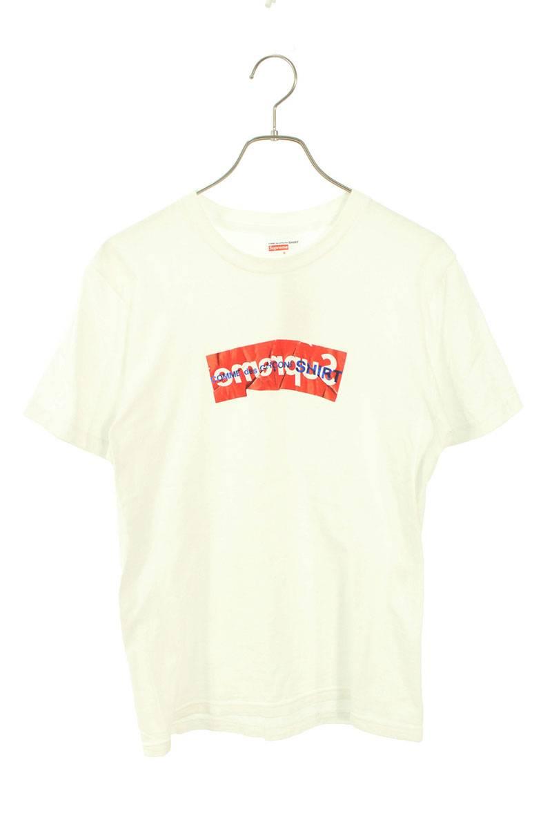 ペーパーアートボックスロゴTシャツ