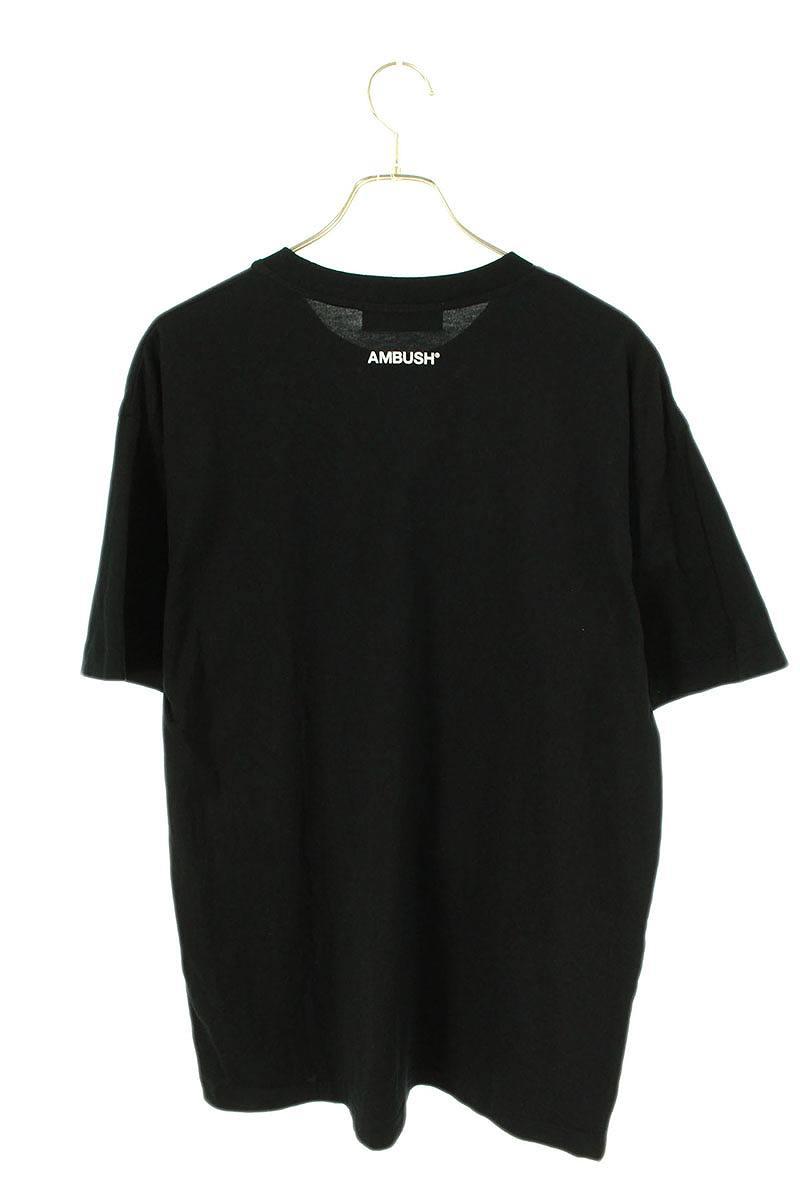 SLOGANバラプリントTシャツ