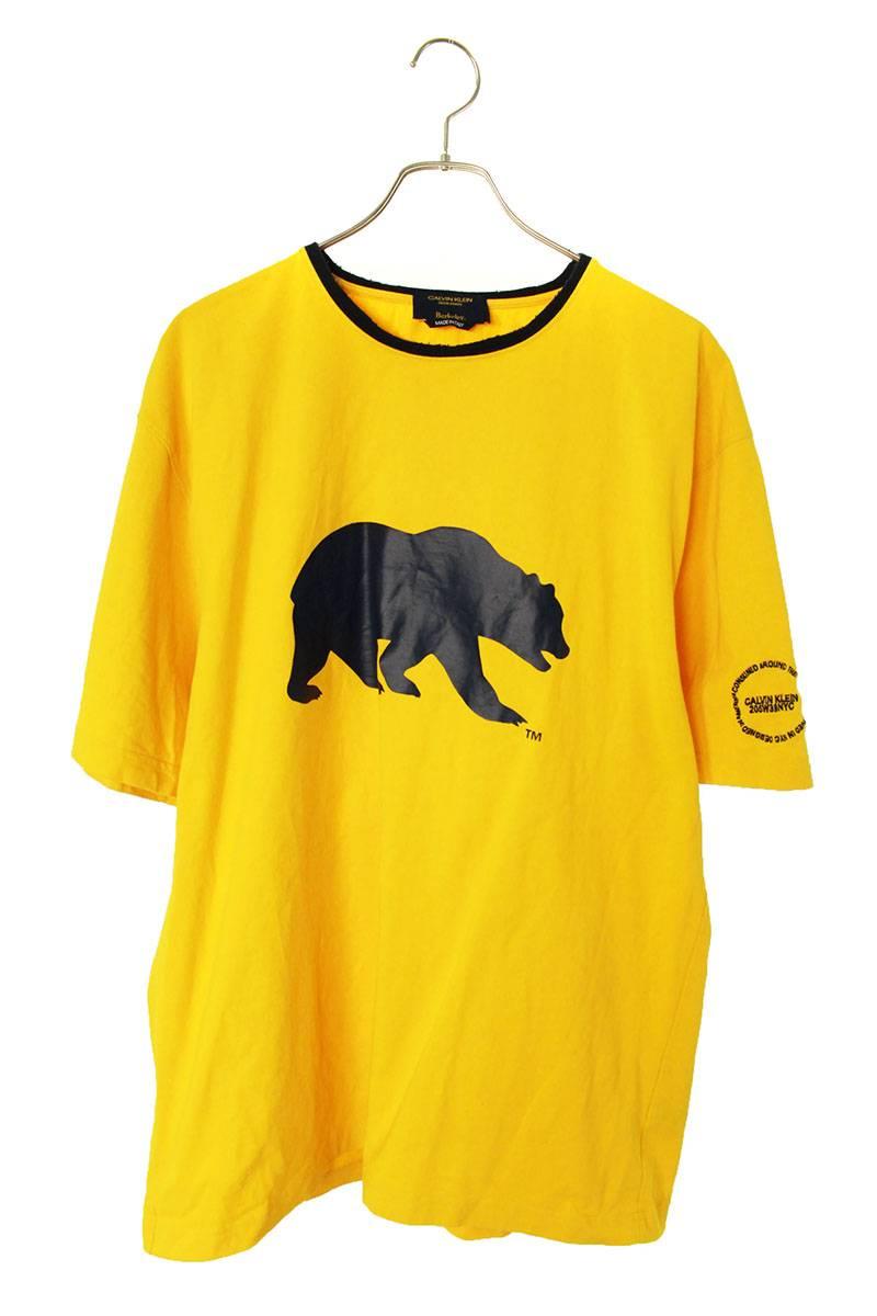 ベアプリントオーバーサイズTシャツ