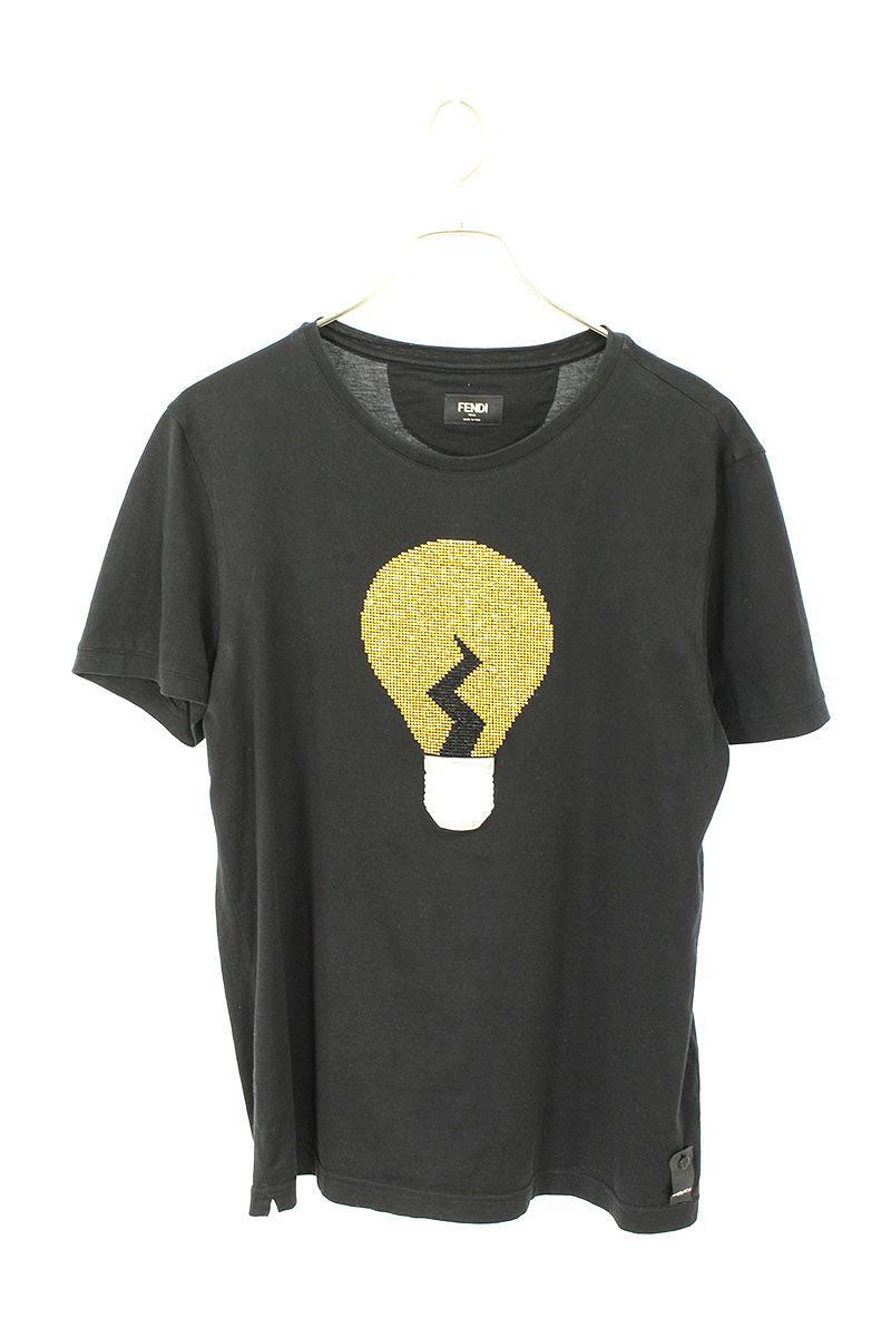 フロント電球デザインTシャツ