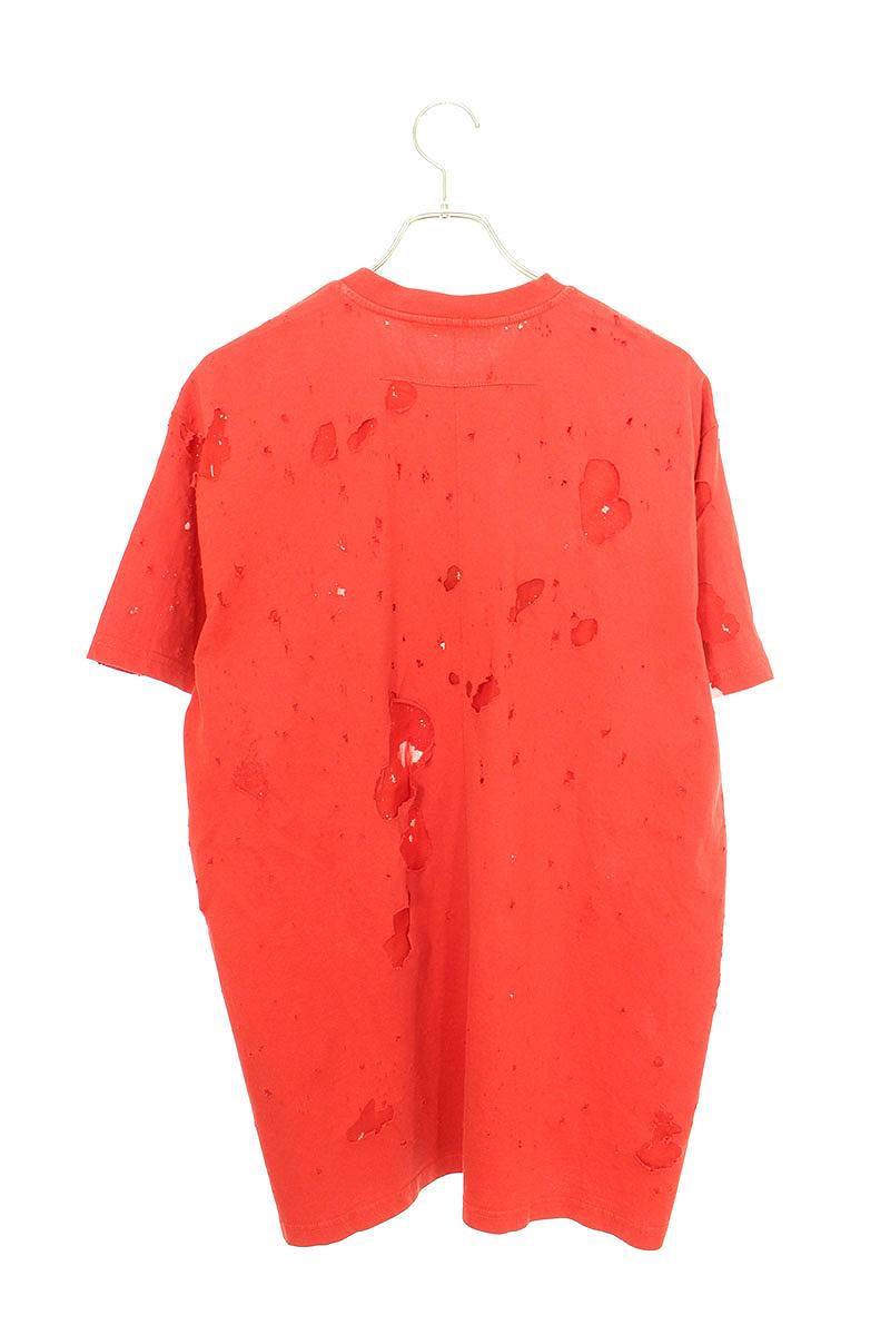 デストロイクラッシュ加工Tシャツ