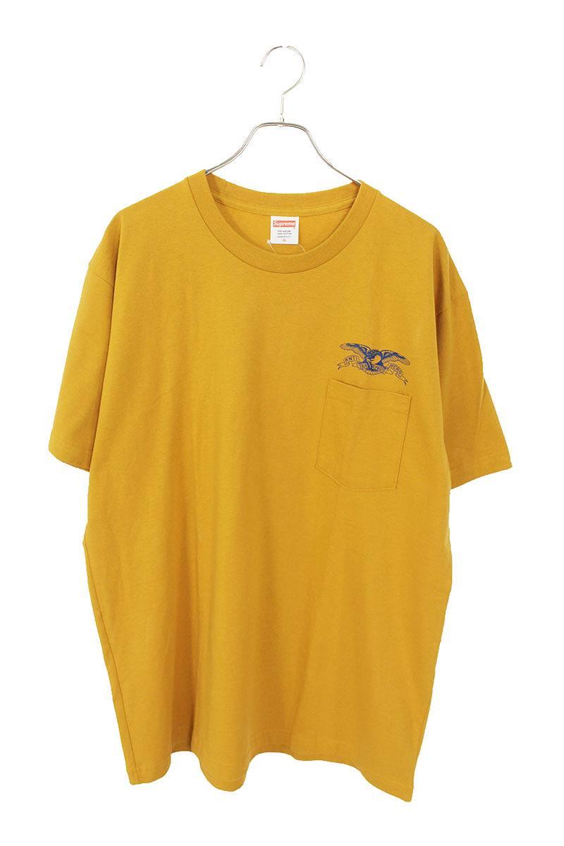 胸ポケットプリントTシャツ