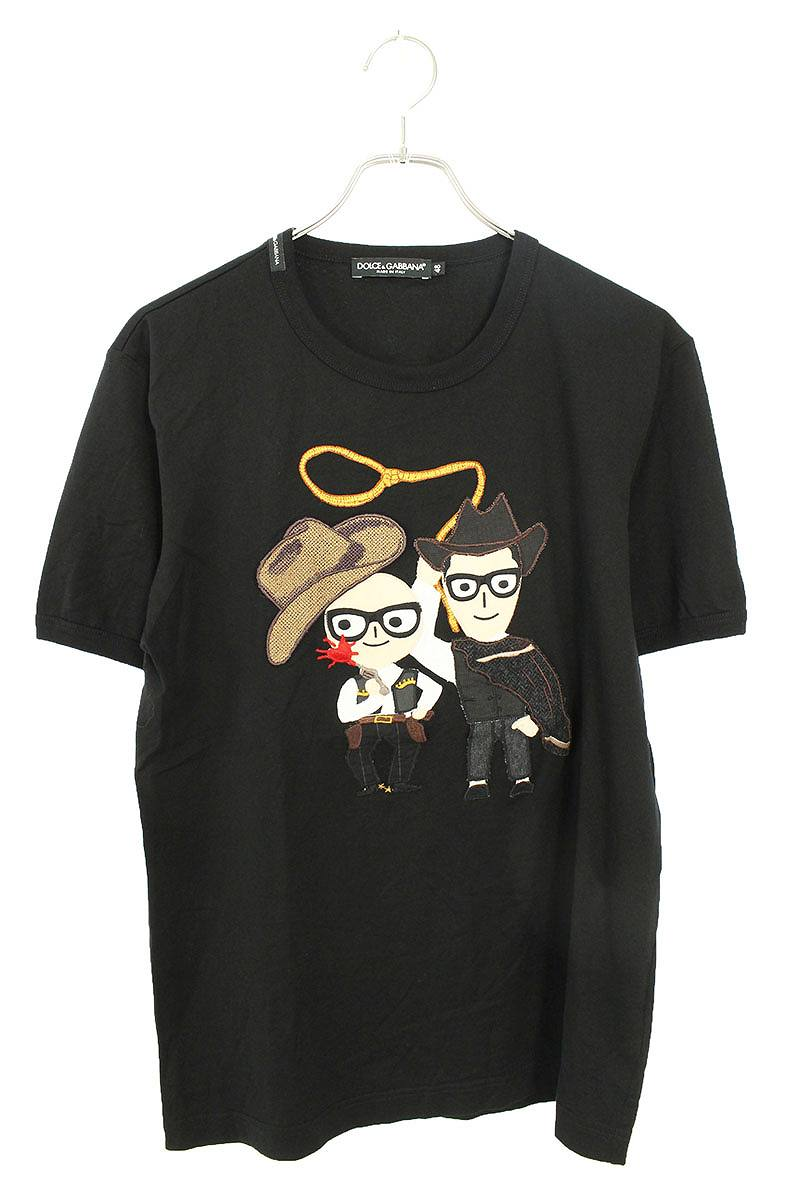 dgfamilyヒューマンワッペンTシャツ