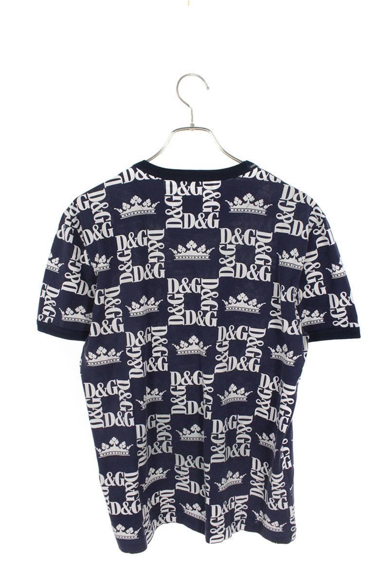 クラウンロゴプリントTシャツ