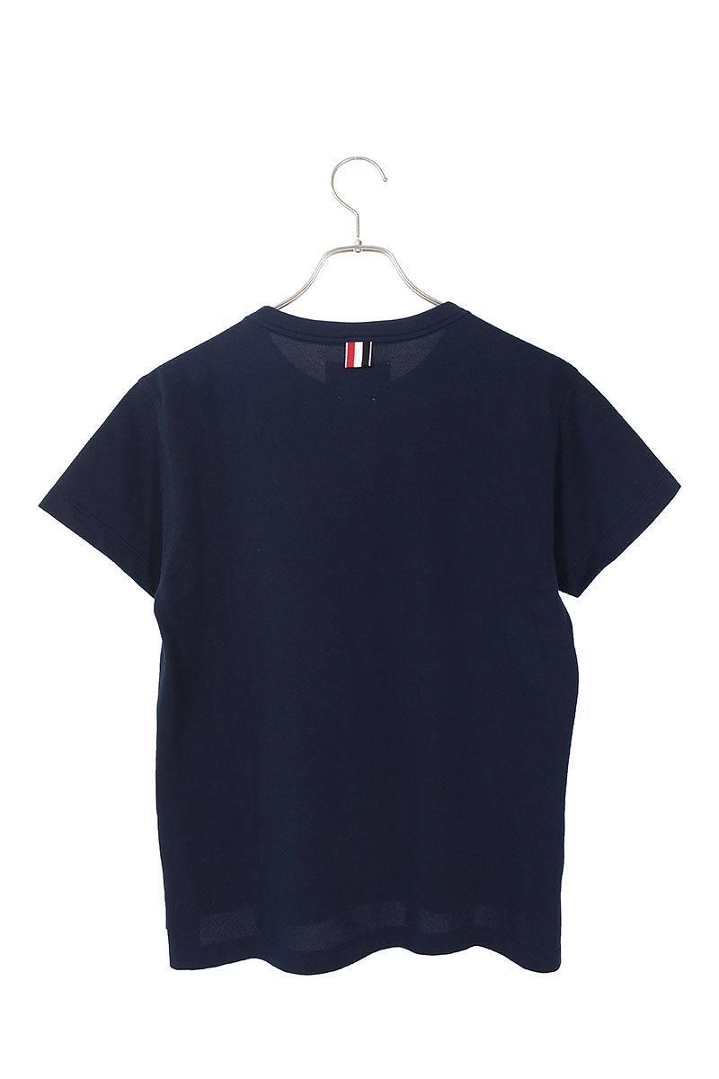 フロントプリント胸ポケットTシャツ