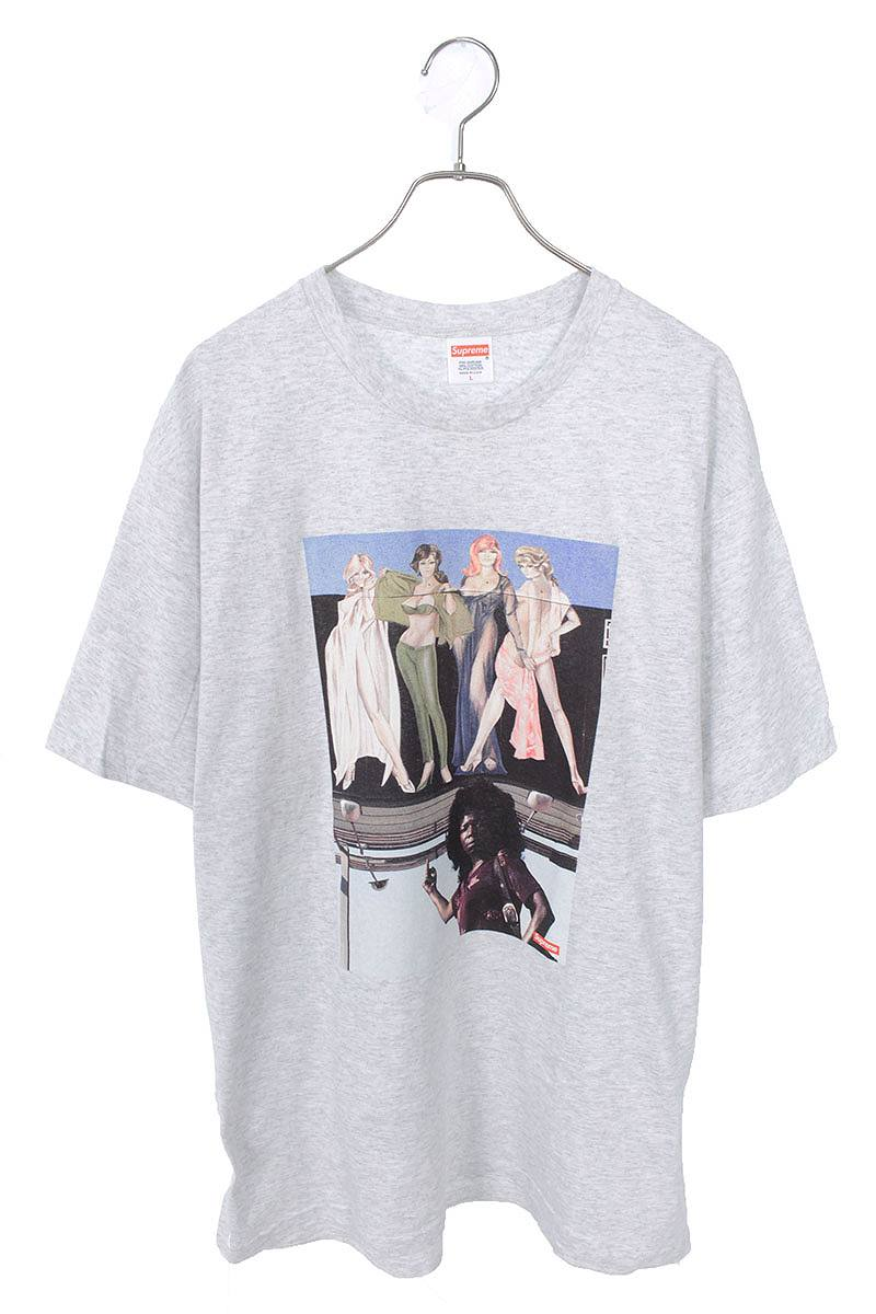 アメリカンピクチャープリントTシャツ