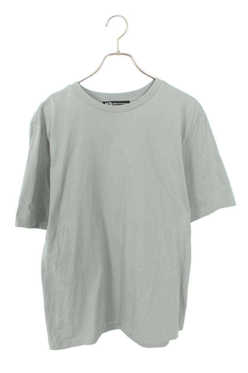 スカル刺繍ロゴプリントTシャツ